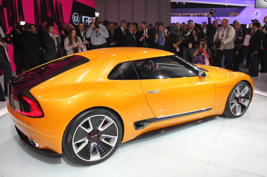 Kia GT4 Stinger concept revealed