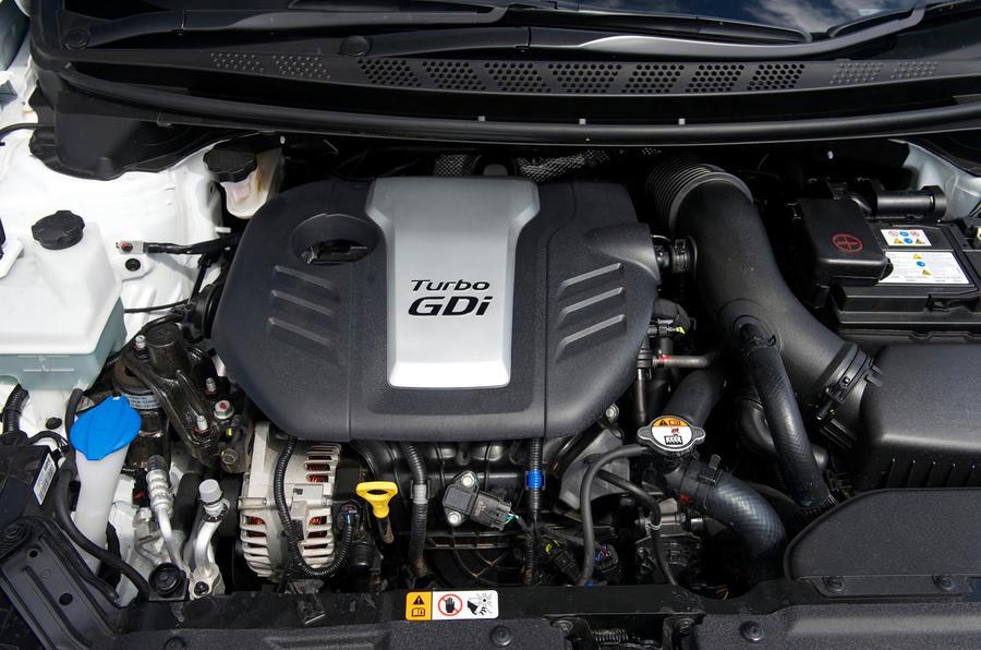 1.6-litre Kia Procee'd GT engine