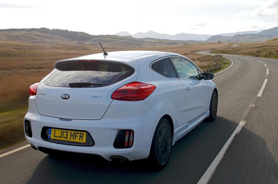 Kia Procee'd GT rear