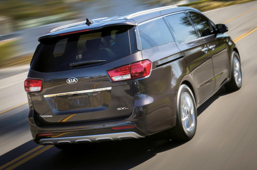 New Kia Sedona revealed ahead of NY debut