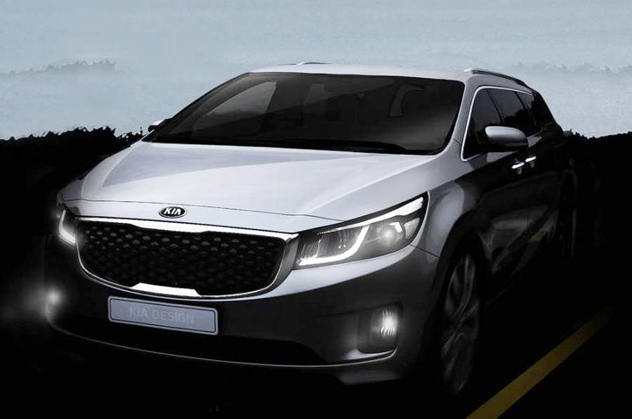 New Kia Sedona to launch in New York