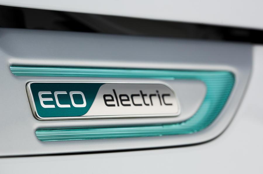 Kia Soul EV eco badging