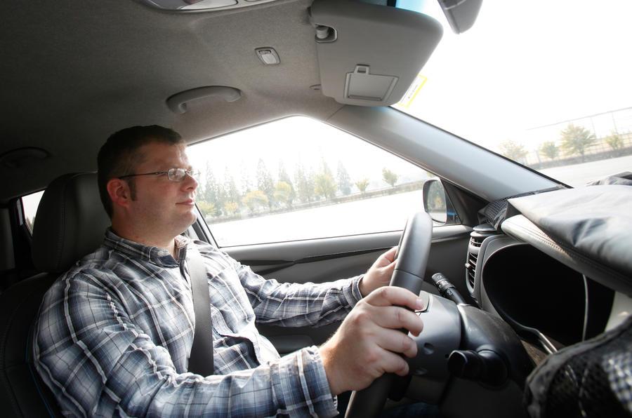 Driving the Kia Soul EV