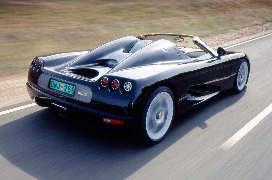 The 200mph Koenigsegg CC8S rear