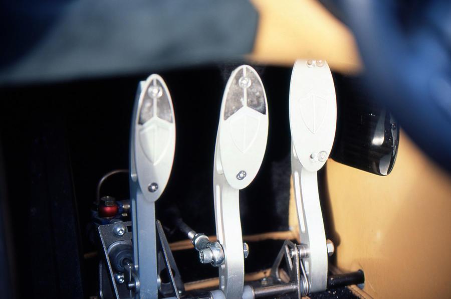 Koenigsegg CC8S aluminium pedals