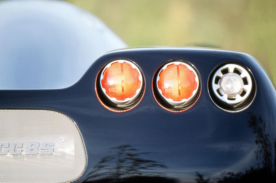 Koenigsegg rear tailights