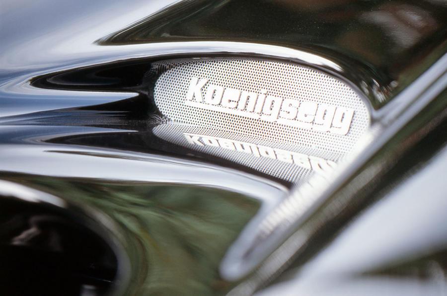 Konigsegg CC8S plaque