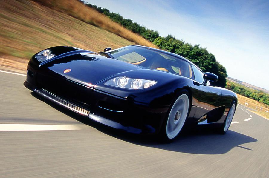 4 star Koenigsegg CC8S