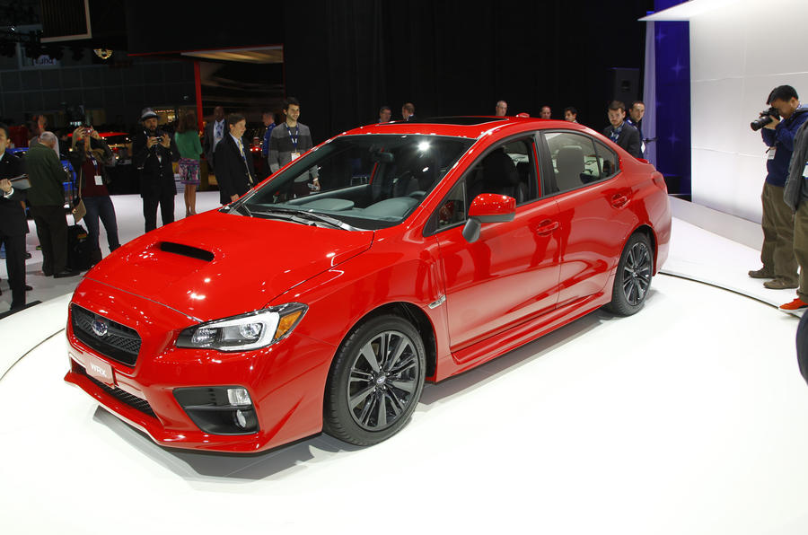 New Subaru WRX STI to be revealed at Detroit motor show