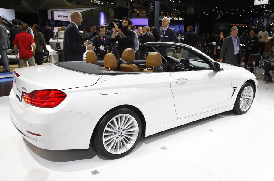 LA motor show 2013: BMW 4-series cabriolet