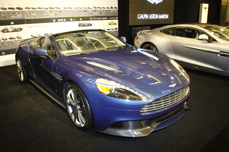Limited-run Aston Martin Vanquish Volante for LA show reveal