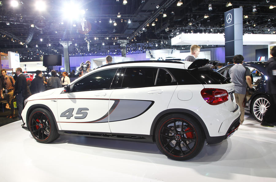 Mercedes-Benz GLA45 AMG gets LA motor show debut