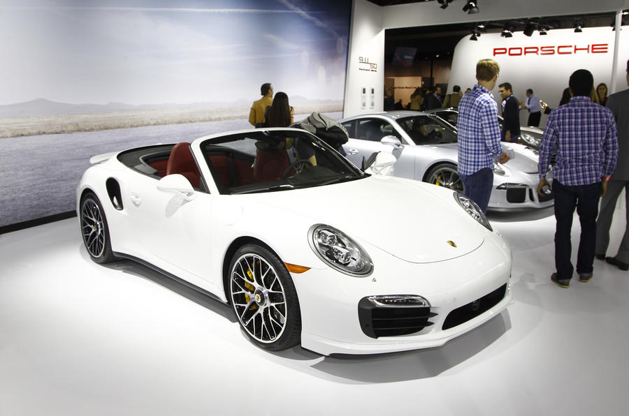 Porsche 911 Turbo and Turbo S Cabriolet revealed