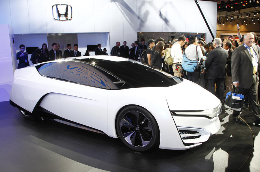 LA motor show 2013: Honda FCEV concept