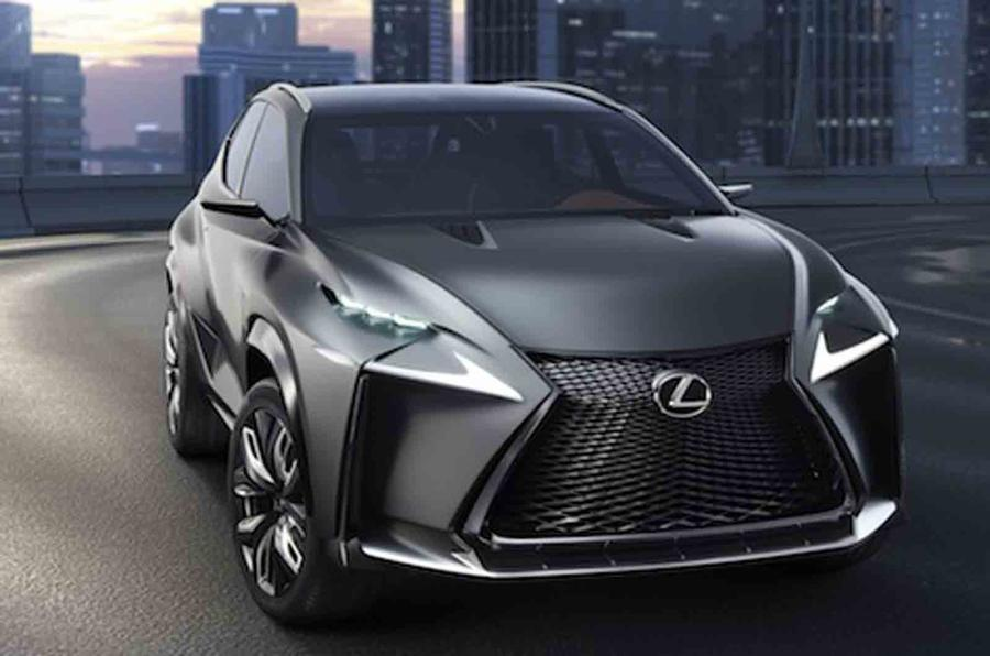 Lexus to show turbocharged LF-NX concept in Tokyo