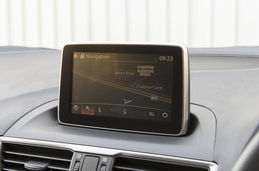 Mazda 3 infotainment system