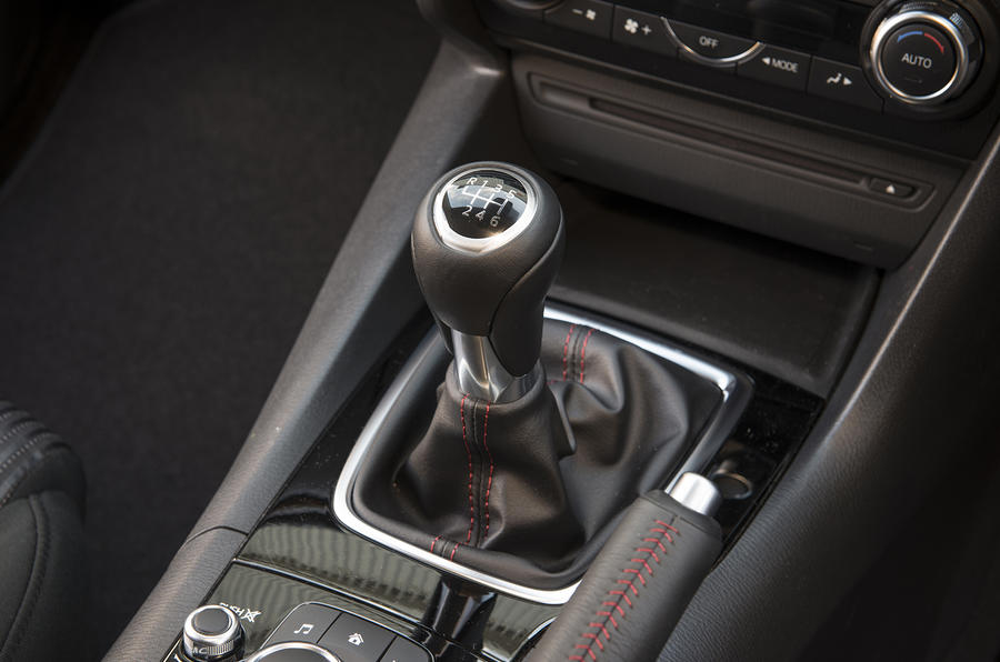 Mazda 3 manual gearbox