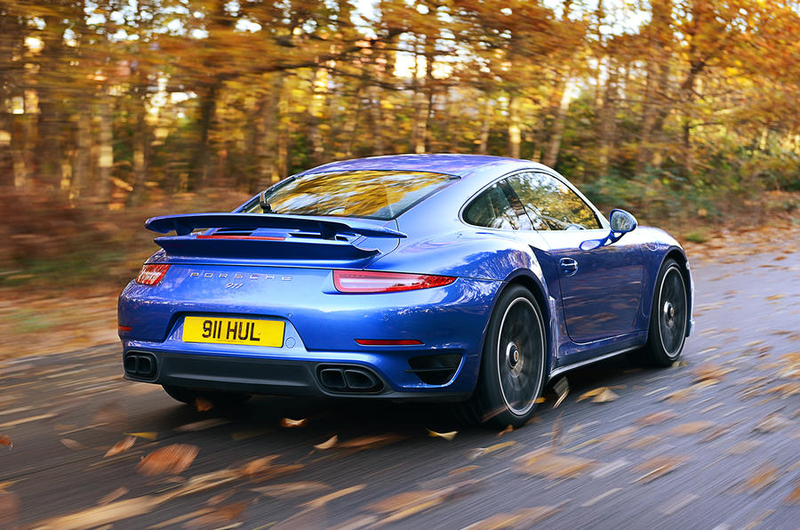 Porsche 911 Turbo rear quarter