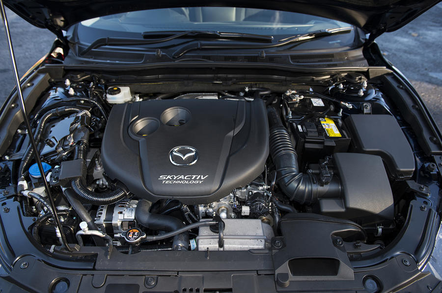 Mazda 3 engine bay