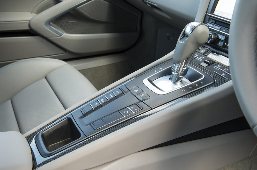 Porsche 911 Turbo manual gearbox