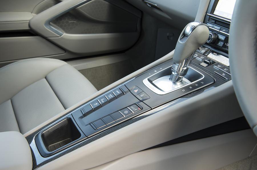 Porsche 911 Turbo manual gearbox