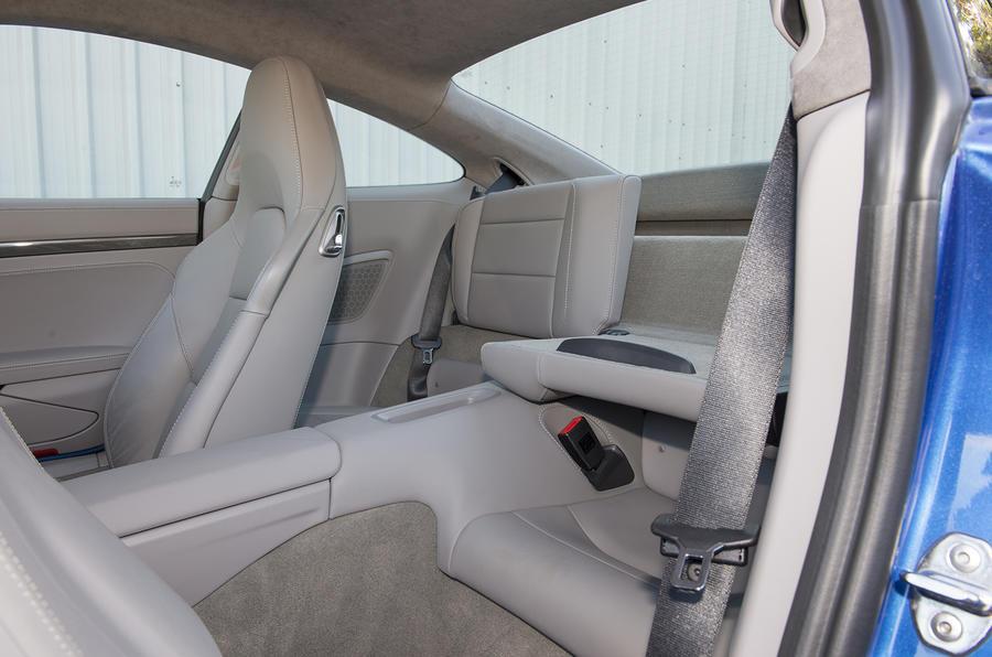 Porsche 911 Turbo rear seats