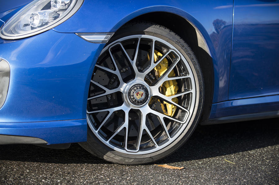 20in Porsche 911 Turbo alloys