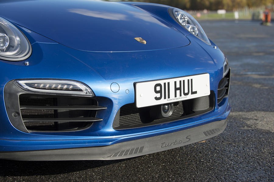 Porsche 911 Turbo front spoiler