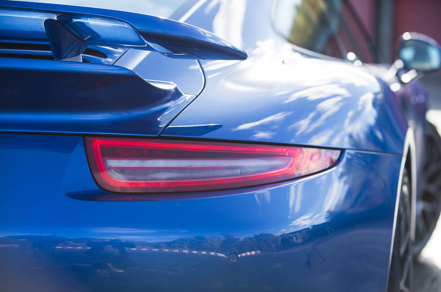 Porsche 911 Turbo rear lights