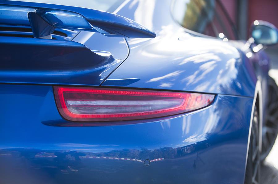 Porsche 911 Turbo rear lights