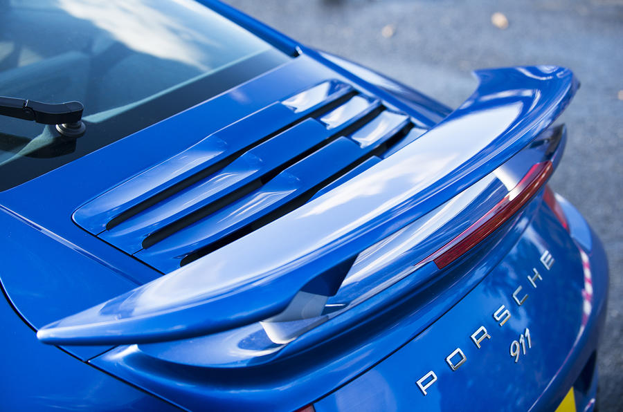 Porsche 911 Turbo rear wing