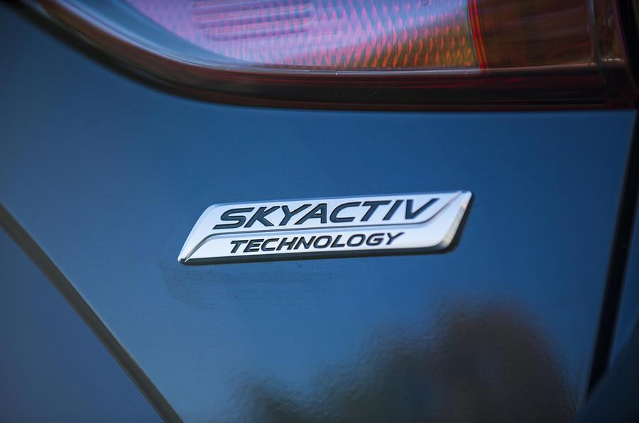 Mazda 3 Skyactiv badging