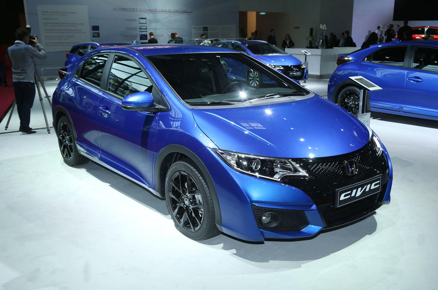 New Honda Civic Sport previews hot Type R