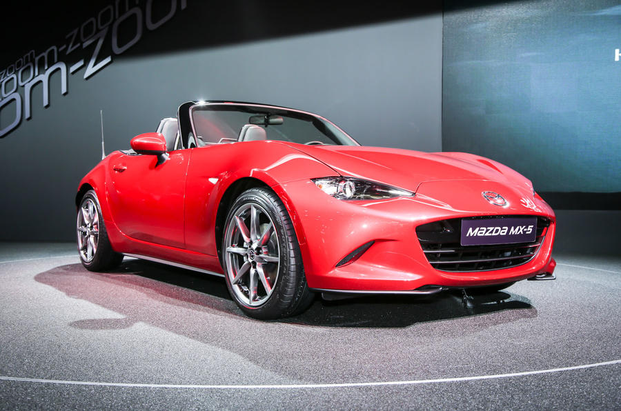 New Mazda MX-5 showcased at Paris motor show