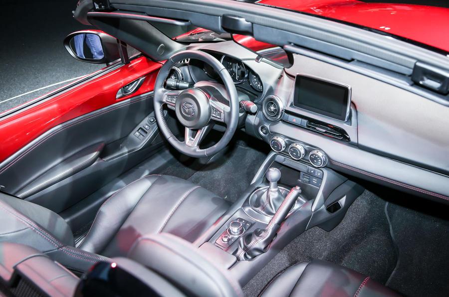 New Mazda MX-5 showcased at Paris motor show