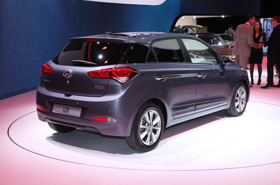 Hyundai i20 engine capacity