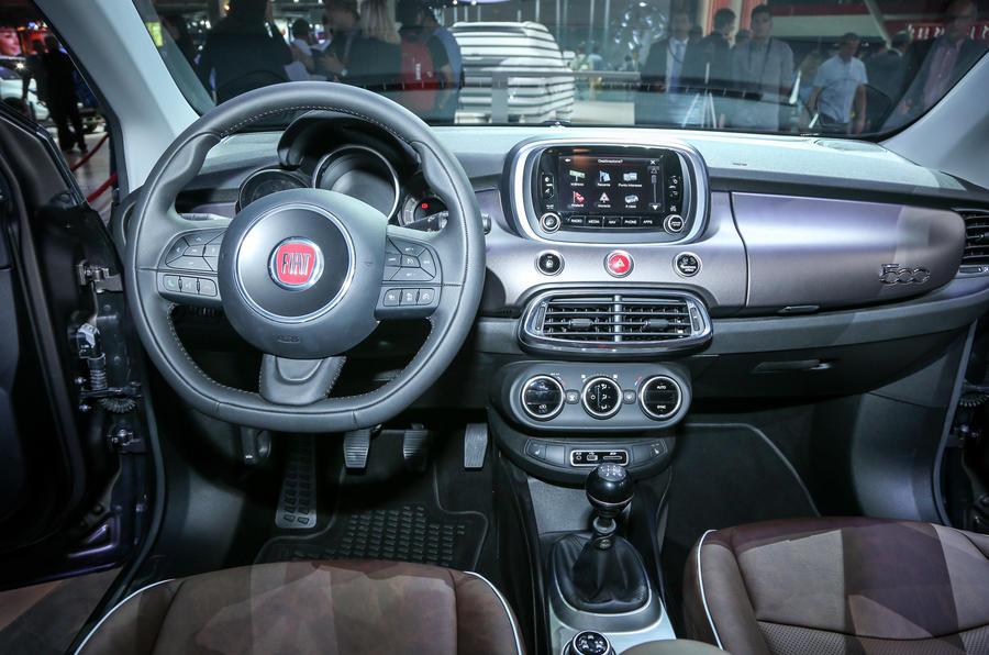 Fiat 500x spec