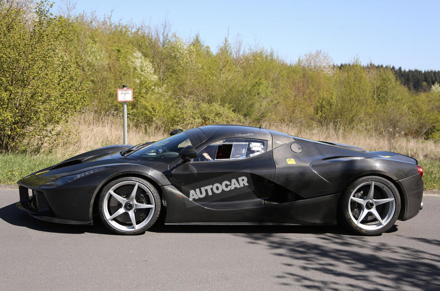 Hard-core new LaFerrari takes to the Nurburgring