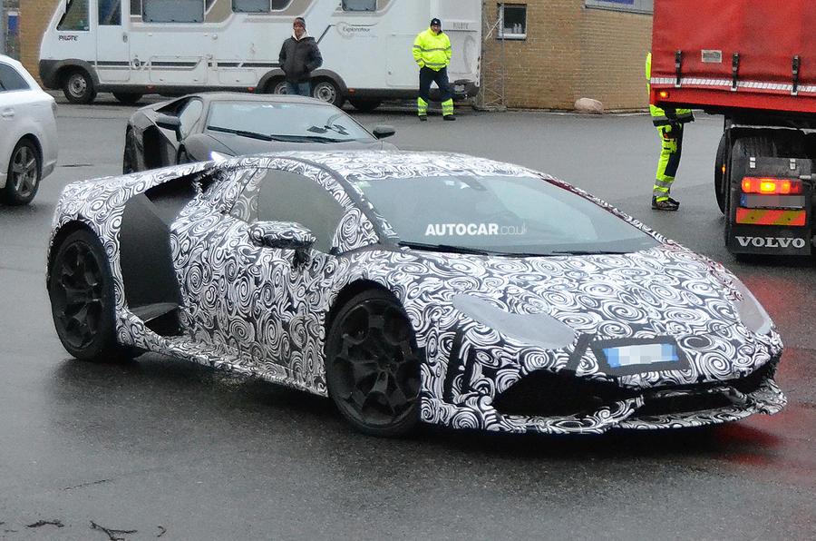 Lamborghini Gallardo replacement - new pictures