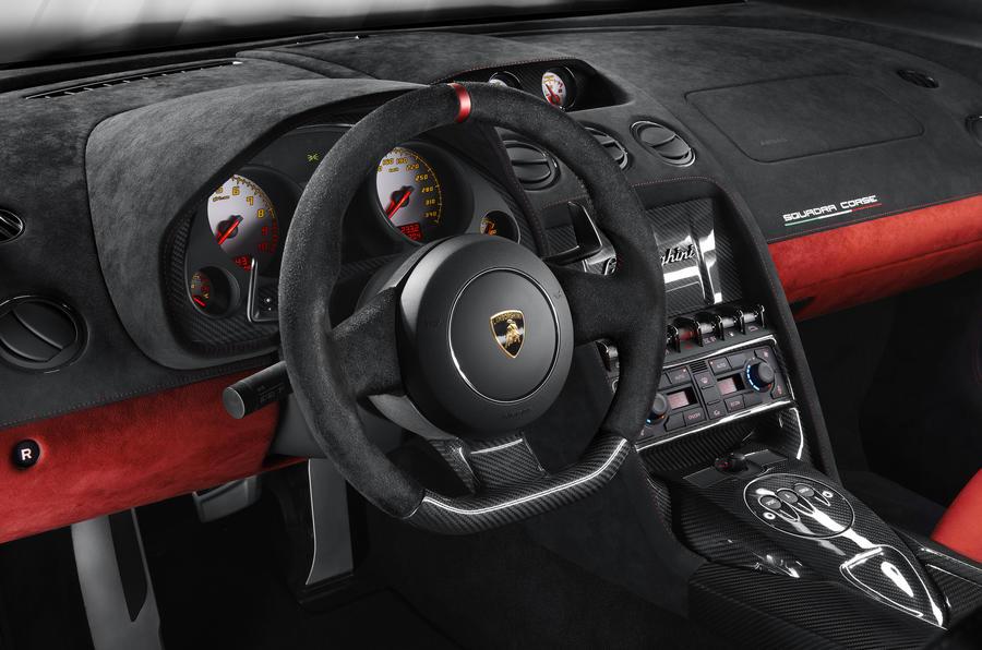 Lamborghini Gallardo LP 570-4 Squadra Corse revealed