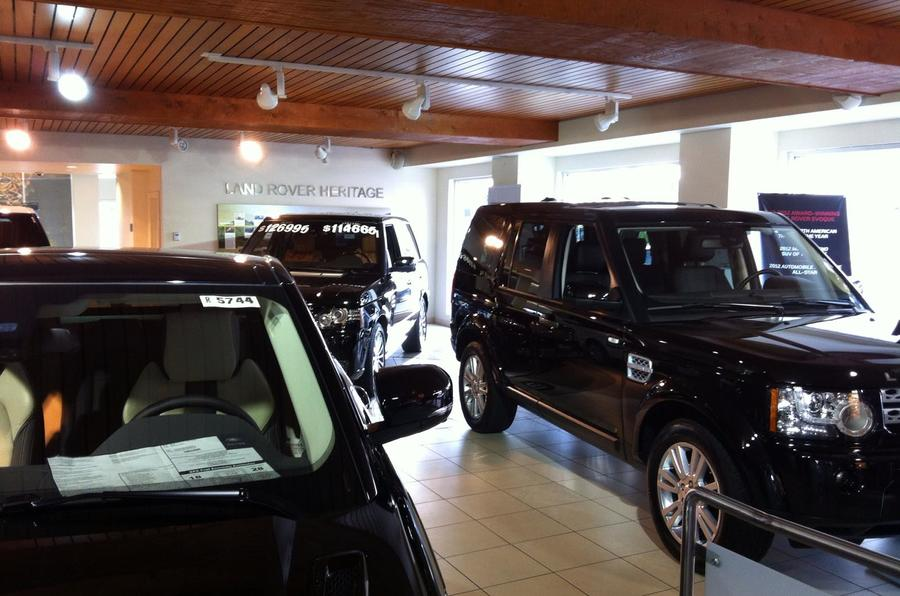 Hornburg Land Rover >> LA motor show: buy it like Beckham | Autocar