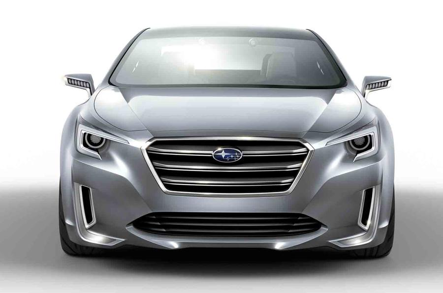Subaru Legacy Concept planned for LA motor show