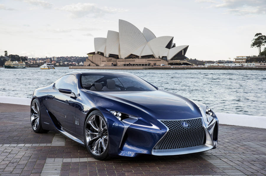 Lexus SC to take on Porsche 911 Turbo in 2016