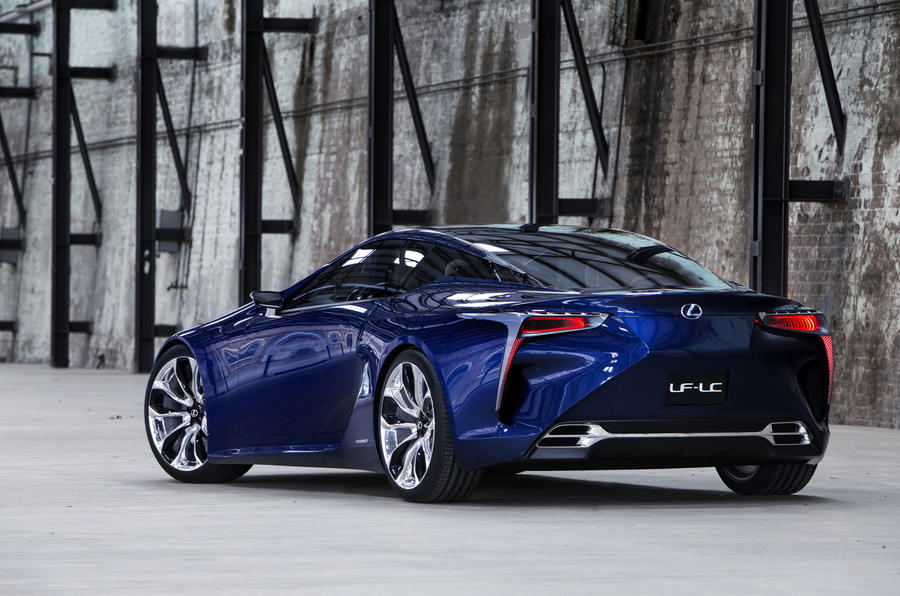 Lexus LF-LC concept to spawn production coupe