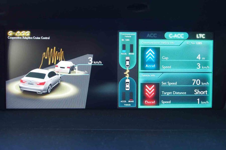 Lexus demonstrates autonomous driving in Tokyo
