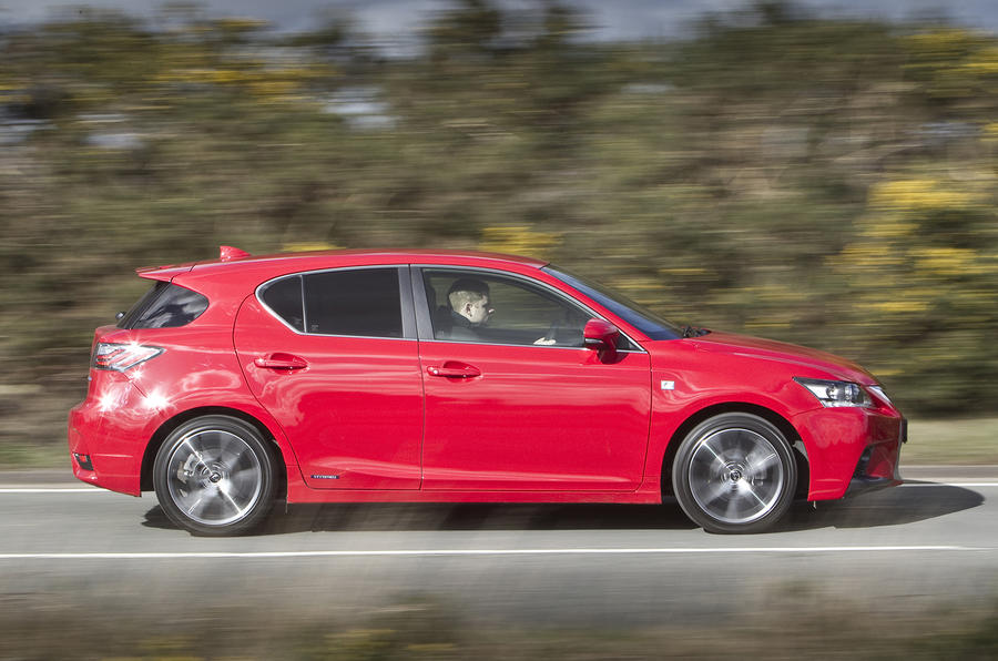 Lexus ct f sport review