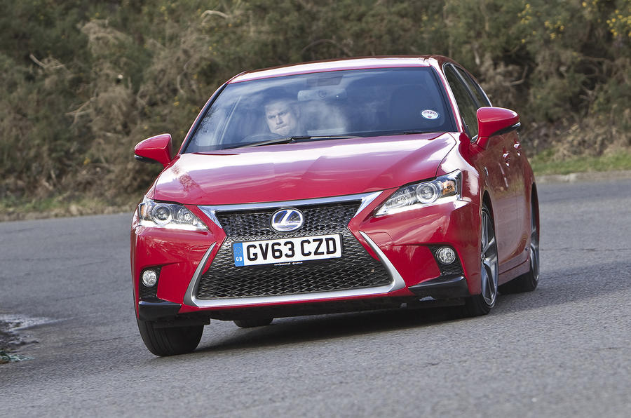 2014 lexus ct200h f sport first drive. Black Bedroom Furniture Sets. Home Design Ideas