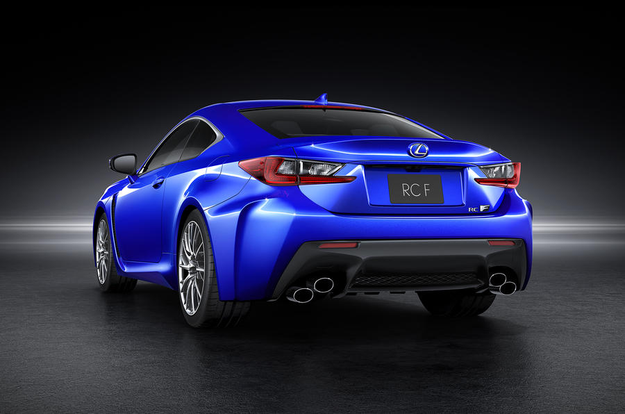 Lexus RC F to rival BMW M4