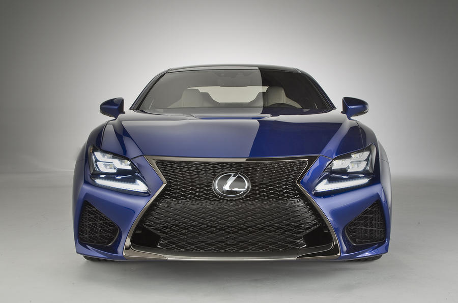 Why Lexus chose the spindle grille