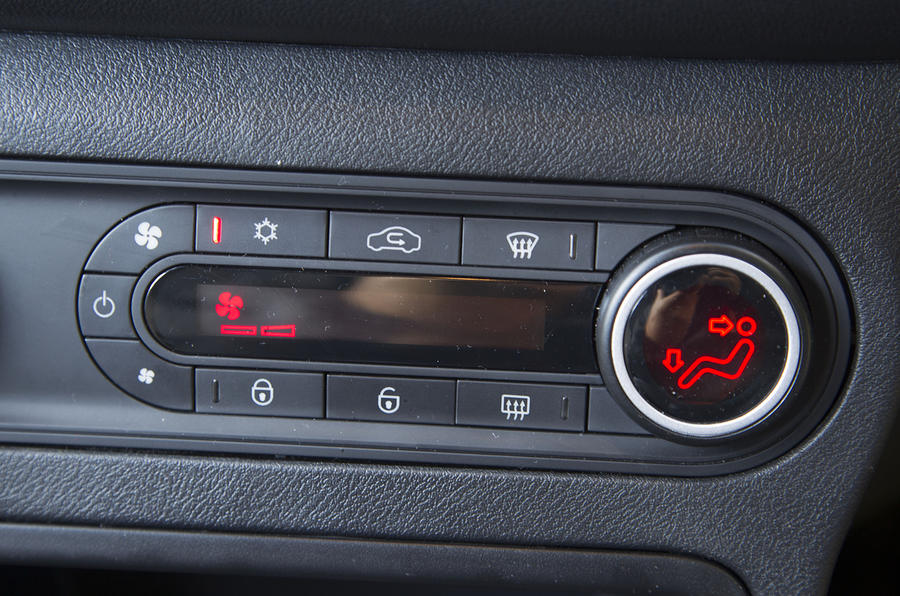 MG3 climate control